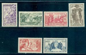 French India #104-109  Mint  Scott $11.90