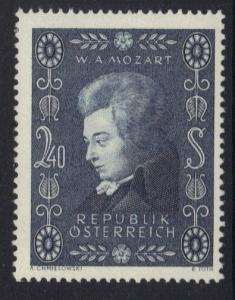 Austria  1956  MNH  Mozart complete