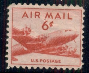 #C39 6¢ SKYMASTER DC-4 AIRMAIL LOT 400 MINT STAMPS SPICE YOUR MAILINGS!