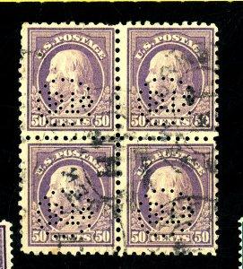 477 Used Block FVF Perf Initials Cat$575