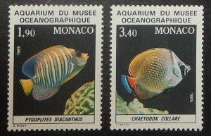Monaco 1560-61. 1986 Oceanographic Aquarium, NH