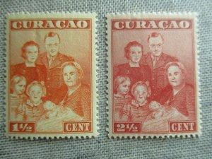 Netherlands Antilles, Scott#170-171, MNH