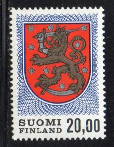Finland Sc 470A 1978 20m Coat of Arms stamp mint NH