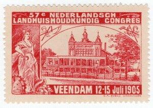 (I.B) Netherlands Cinderella : 57th Agricultural Congress (Veendam 1905)