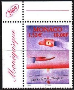 Monaco. 2000. 2509. Red Cross. MNH.