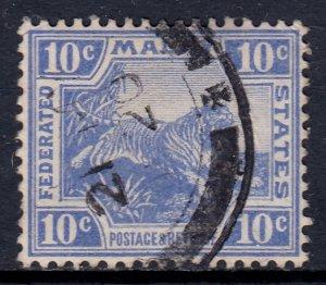 Malaya - Scott #47 - Used - SCV $2.25