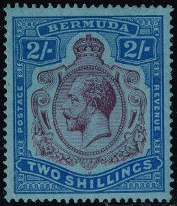 Bermuda #94a King George V; Unused (3Stars)