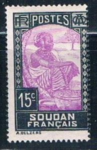 Sudan French 67 MLH Sudanese Woman 1931 (S0849)+