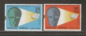 Pakistan Scott catalog # 288-290 Mint NH See Desc