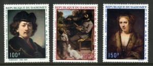 DAHOMEY C113-C115 MH SCV $8.00 BIN $4.25 ART