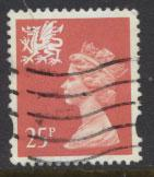 Great Britain Wales  SG W73 SC# WMMH60 Used  see details 2 band