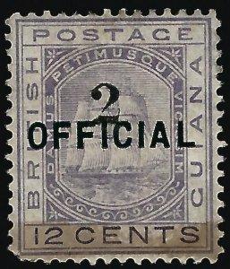 British Guiana #99 SG 155 Mint F-VF nibbed perf..Fill a Key British Colony spot!