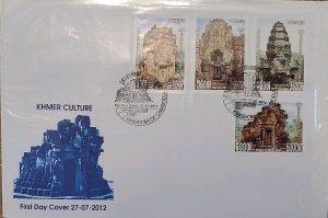 O) 2012 CAMBODIA, BUDDHIST TEMPLES. HERITAGE, PRATA THOM, PRASAT NOKOR, PRASAT T
