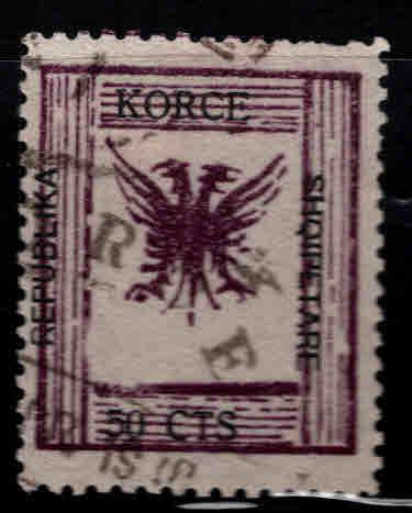 Albania Shqiperise Scott 67 Used double eagle