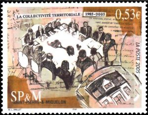 St. Pierre and Miquelon #814 MNH CV$1.75 Territorial Collectivity [56355]