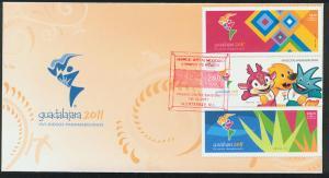 MEXICO 2755 Cacheted FDC Pan American Games-Guadalajara