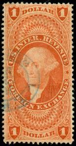 momen: US Stamps #R68c Used Dbl Frame Revenue
