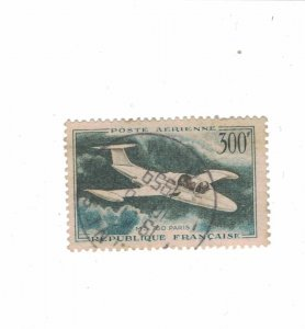 1227 - France (300 Fr) 1959 - Postage stamps Airmail [Stamp] Mint conditions