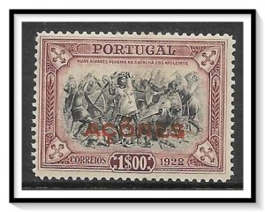 Azores #297 Third Independence Issue NG