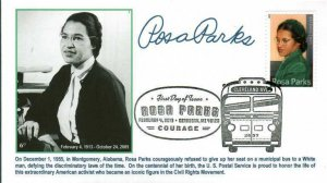 6° Cachets 4742 Rosa Parks Dearborn pictorial cancellation