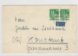 German Postal History Stamps Cover Ref: R4757
