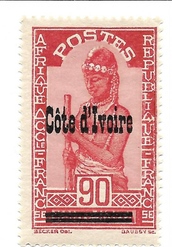 IVORY COAST SCOTT 107 IN MNH CONDITION