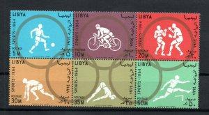 1964 - Libya - Olympic Games- Tokyo, Japan - Football - Crossing- Boxing - Strip