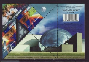 Finland 2000 MNH - Science - m/sheet, with halographic foil