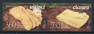 Bosnia & Herzegovina 2018 MNH World Food Day Cicvara 2v Set Gastronomy Stamps