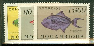 P: Mozambique 332-355 MNH CV $163; scan shows only a few