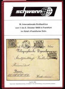 Schewnn: Sale # 16  -  Schwenn 16. Internationale GroB-Au...