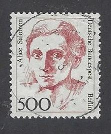Berlin West Michel Nr 830 High Value (Michel Euro 45.-) real used