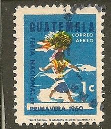 Guatemala  Scott  C270    Woman Carrying Fruit        Used