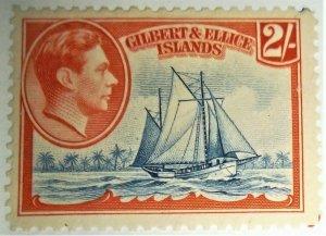 1939 Gilbert & Ellice Scott #49 Mint Hinged
