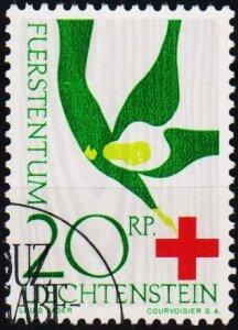 Liechtenstein. 1963 20r S.G.424 Fine Used