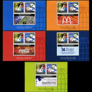 SINGAPORE 2003 - Scott# 1043c-g S/S Global City NH