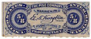 (I.B) US Revenue : Proprietary Medicine Duty 5/8c (The Piso Company)