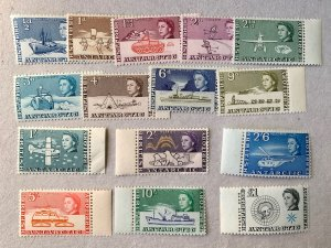 British Antarctic Territory 1963 complete MNH set. SEE NOTE. Scott 1-15, CV $172