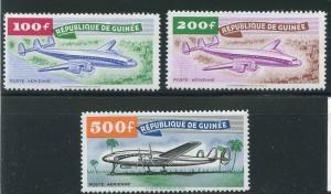 Guinea Scott C14-16 MNH! Planes!