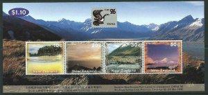 NEW ZEALAND SGMS1998 1996 CHINA 96 MNH