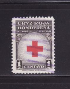 Honduras RA4 Set U Red Cross (D)
