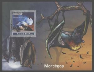 Guinea Bissau 2007 Bats set of two S/S NH