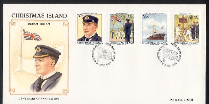 Christmas Island - 1988 Centenary of British Annexation (FDC)