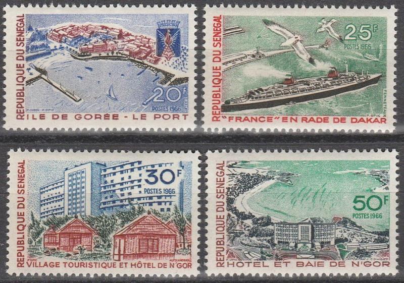 Senegal  #279-82 MNH CV $3.30 (S6246L)