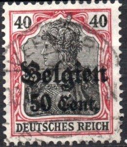 Belgium - German Occupation - 1916-1918 #N20 VF Used