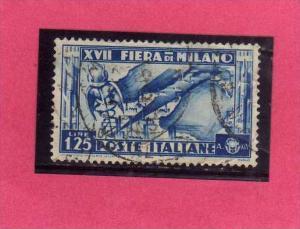 ITALIA REGNO ITALY KINGDOM 1936 XVII FIERA DI MILANO 17 17TH FAIR MILAN LIRE ...