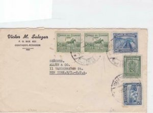 Ecuador Guayaquil multi  stamps cover R20454