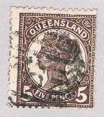 Queensland 111 Used Queen Victoria 1895 (BP51712)