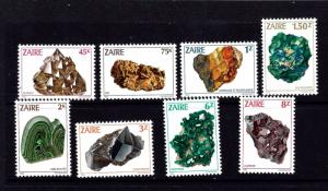 Zaire 1102-09 NH 1983 Minerals
