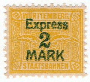 (I.B) Germany Railway : Wurttemburg Staatsbahnen 2M (Express)